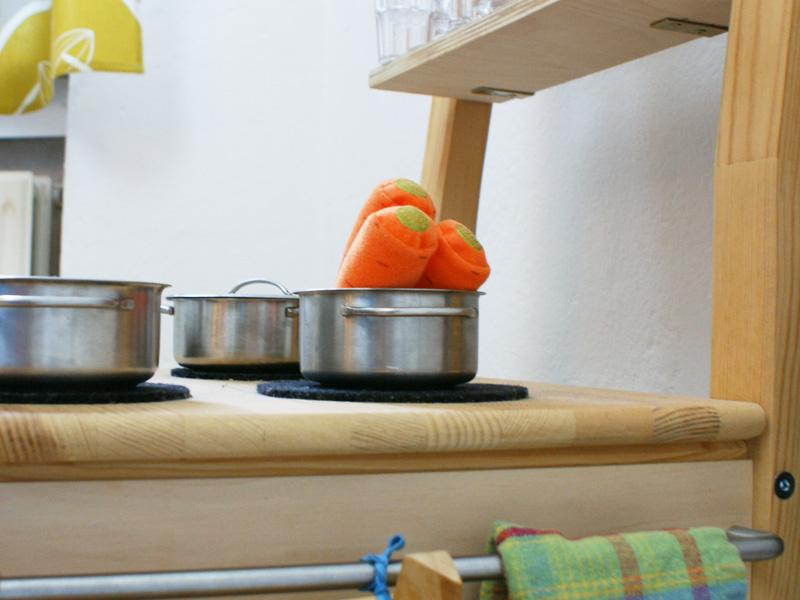 Diy Stuhlküche Eine Spielküche Aus Einem Alten Holzstuhl
