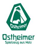 Ostheimer-handgestaltetes Spielzeug aus Holz