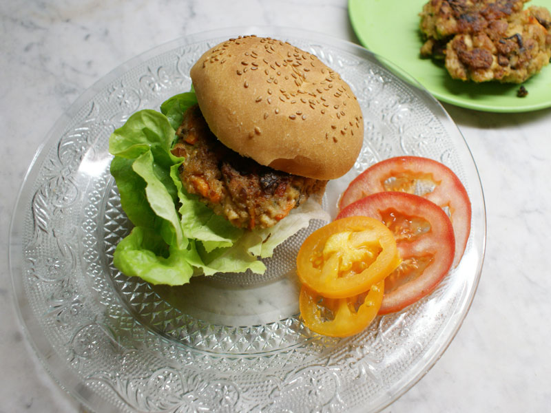 VegetarischerBurger