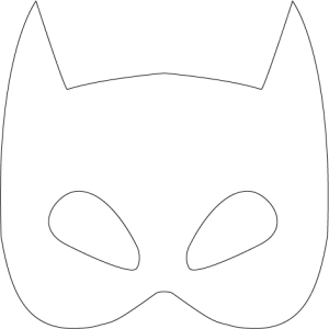 BatmanLogoFreePrintable-Maske