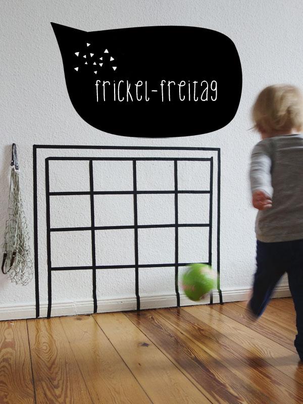 Diy Fur Ein Fussballtor Im Kinderzimmer Nachhaltig Gutes