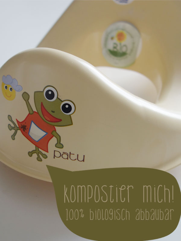 WC-Sitz-Toilettensitz-Bio-Patu-beige-Druck-Frosch-Patu-kompostierbar-TB